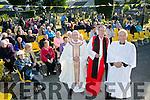 Church of Ireland Bishop Kenneth Kearon,  Fr. Patsy Lynch, Fr. Joe Hardy lead the St John's Cemetery Annual Mass on Thursday