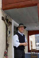 "Europe/Italie/Trentin Haut-Adige/Dolomites/Alta Badia/env de San Cassiano/Pedraces:  Auberge de Montagne   ""Maso Runch Hof"" Enrico Nagler aubergiste"
