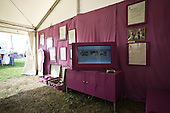The The Swedish Exhibition showed Swedish culture and Scouting in different coloured rooms.