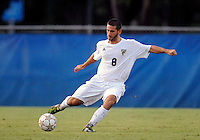 Florida International University men's soccer player Nicholas Chase (8) plays against Florida Atlantic University on August 28, 2011 at Miami, Florida.  The game ended in a 1-1 overtime tie. .