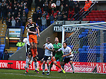 Jack O'Connell of Sheffield Utd  scoring the second goal during the FA Cup Second round match at the Macron Stadium, Bolton. Picture date: December 4th, 2016. Pic Simon Bellis/Sportimage