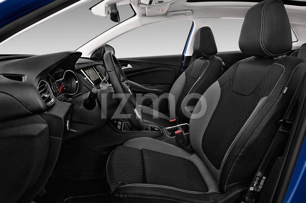 Front seat view of a 2018 Opel Grandland X Innovation 5 Door SUV front seat car photos