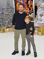 Jason Priestley &amp; Dashiell Priestley at the world premiere for &quot;The Star&quot; at the Regency Village Theatre, Westwood. Los Angeles, USA 12 November  2017<br /> Picture: Paul Smith/Featureflash/SilverHub 0208 004 5359 sales@silverhubmedia.com