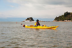 New Zealand, South Island: Kayaking from Kaiteriteri along the Abel Tasman National Park coast. Photo copyright Lee Foster. Photo # newzealand124987