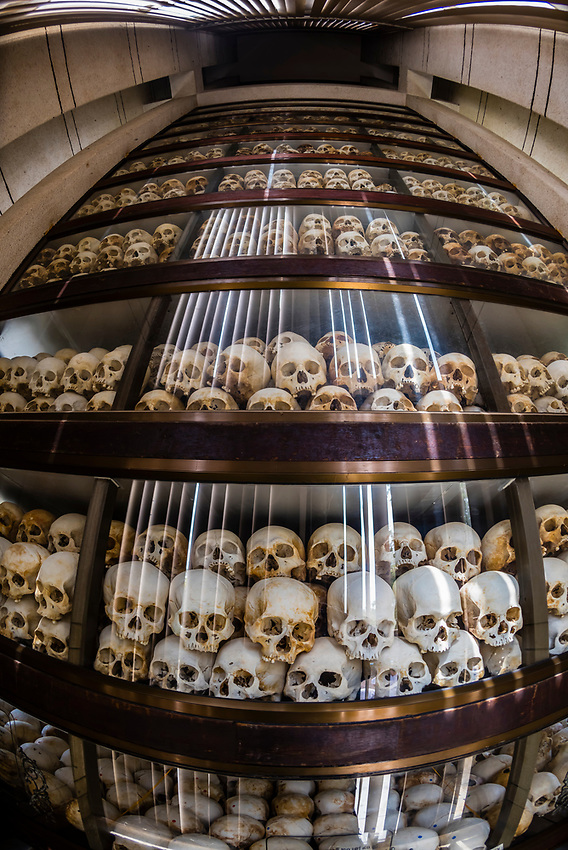 Cambodia-Phnom Penh-Genocide Museums