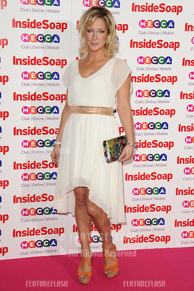 Gemma Merna arriving for the 2013 Inside Soap Awards, at the Ministry Of Sound, London. 21/10/2013 Picture by: Steve Vas / Featureflash