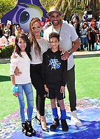 Boris Kodjoe &amp; Nicole Ari Parker &amp; children at the world premiere for &quot;Smurfs: The Lost Village&quot; at the Arclight Theatre, Culver City, USA 01 April  2017<br /> Picture: Paul Smith/Featureflash/SilverHub 0208 004 5359 sales@silverhubmedia.com
