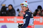 Dietmar Noeckler competes during the 10 Km Individual Free race of Tour de ski as part of the FIS Cross Country Ski World Cup  in Dobbiaco, Toblach, on January 8, 2016. Finn Haagen Krogh wins the stage. Martin Johnsrud Sundby (2nd) remains leader. French Maurice Manificat is third. Credit: Pierre Teyssot