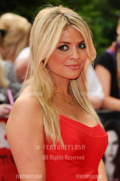 Holly Willoughby arriving for the UK Premiere of 'The Twilight Saga: Eclipse', at Odeon Leicester Square, London. 02/07/2010  Picture by: Steve Vas / Featureflash