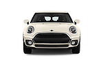 Car photography straight front view of a 2016 MINI Clubman One 5 Door Wagon Front View