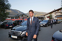 Austria, Kitzbuhel, Juli 15, 2015, Tennis, Davis Cup, Dutch team arriving at official  dinner Pictured: Robin Haase<br /> Photo: Tennisimages/Henk Koster