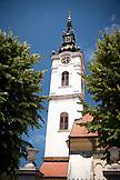 SERBIA, Belgrade, A church steeple in Zemun, Eastern Europe