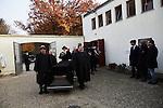 30.10.2015, Berlin. Jewish Cemetary Heerstraße. Funeral of Alexander Brenner, former chairman of Berlin's Jewish Community from 2001–2004.