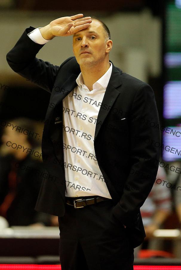 Veljko Mrsic  Crvena Zvezda - Cedevita kosarka ABA regionalna liga 4.1.1016. Januar 4. 2016. (credit image & photo: Pedja Milosavljevic / STARSPORT)