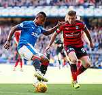 Alfredo Morelos and Kerr Waddell