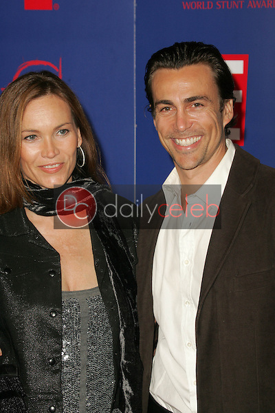 Lisa Stothard and Daniel Bernhardt<br />