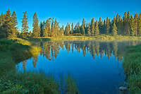 WHirlpool Lake at sunrise<br />