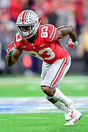 Indianapolis, IN - DEC 1, 2018: Ohio State Buckeyes wide receiver Terry McLaurin (83) during first half action of the Big Ten Championship game between Northwestern and Ohio State at Lucas Oil Stadium in Indianapolis, IN. (Photo by Phillip Peters/Media Images International)