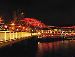 Nightlife at the Riverside, Singapore.