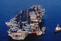 - US Navy, portaerei Kennedy in Mediterraneo<br /> <br /> - US navy, Kennedy aircraft carrier in Mediterranean sea