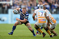 Sam Underhill of Bath Rugby in possession. Gallagher Premiership match, between Bath Rugby and Wasps on May 5, 2019 at the Recreation Ground in Bath, England. Photo by: Patrick Khachfe / Onside Images