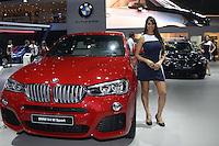 SAO PAULO, SP, 02.11.2014 - SALAO DO AUTOMOVEL - BMW X4 Sport em exposi&ccedil;&atilde;o<br />  durante o quarto dia do 28&ordm; Sal&atilde;o Internacional do Autom&oacute;vel no Anhembi na regi&atilde;o norte de S&atilde;o Paulo, neste domingo, 02. (Foto: Marcos Moraes / Brazil Photo Press).