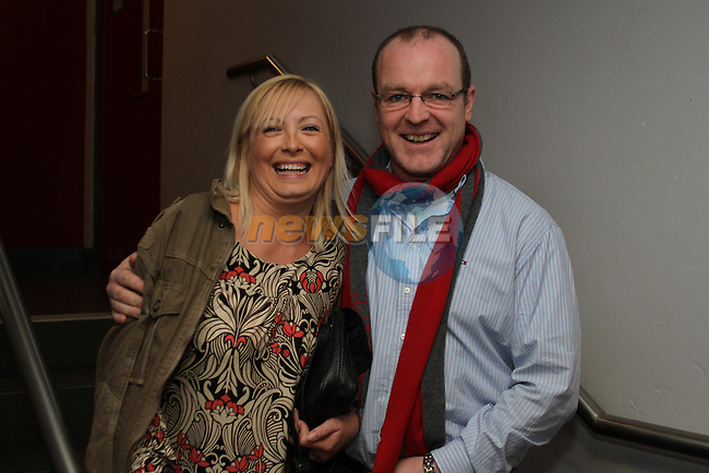 Justine Mitchell with Brian Hughes at her 40th birthday Party in Bru...(Photo credit should read Jenny Matthews www.newsfile.ie)....This Picture has been sent you under the conditions enclosed by:.Newsfile Ltd..The Studio,.Millmount Abbey,.Drogheda,.Co Meath..Ireland..Tel: +353(0)41-9871240.Fax: +353(0)41-9871260.GSM: +353(0)86-2500958.email: pictures@newsfile.ie.www.newsfile.ie.