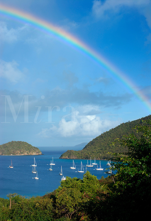US Virgin Islands, St John, Maho Bay