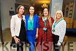 Madeline Doyle (Rose Hotel) with Deirdre Murphy, Edele Kelly and Caroline Rogers of Horans Health Stores at the Horans Health & Wellness Exhibition in the Rose Hotel on Saturday.