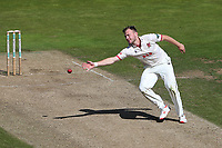 Sam Cook of Essex stretches for the ball during Warwickshire CCC vs Essex CCC, Specsavers County Championship Division 1 Cricket at Edgbaston Stadium on 11th September 2019