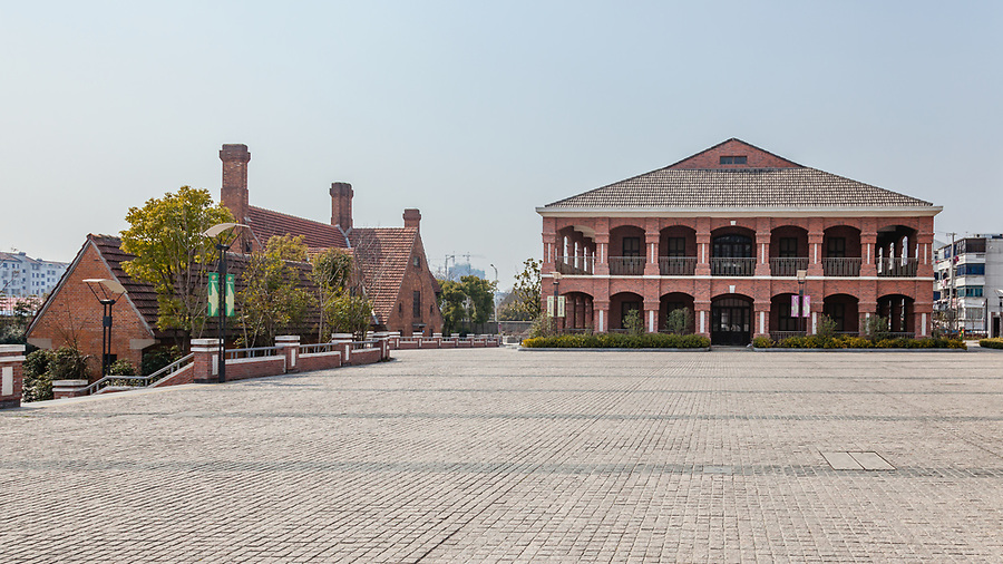 Custom House & Residential Complex In Suzhou (Soochow).