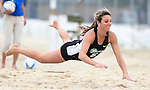 Tulane Sand Volleyball sweeps Mercer at Coconut Beach.