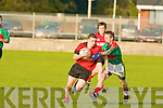 Glenbeigh/Glencar's Michael Kelly and Beale's Cormac Walsh.