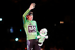 Christopher Froome (GBR) Team Sky also wins the points Green Jersey of La Vuelta at the end of the final Stage 21 of the 2017 La Vuelta, running 117.6km from Arroyomolinos to Madrid, Spain. 10th September 2017.<br /> Picture: Unipublic/&copy;photogomezsport | Cyclefile<br /> <br /> <br /> All photos usage must carry mandatory copyright credit (&copy; Cyclefile | Unipublic/&copy;photogomezsport)