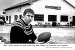 Paidi OSe outside his pub in 1985.<br /> Picture by Don MacMonagle