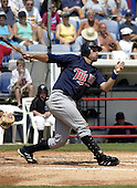 March 29, 2004:  Brian Simmons of the Minnesota Twins organization during Spring Training at Dunedin Stadium in Dunedin, FL.  Photo copyright Mike Janes/Four Seam Images