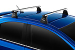 Sport Roof Rack on a 2010 Mitsubishi Lancer Sportback