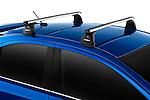 Sport Roof Rack on a 2010 Mitsubishi Lancer Sportback