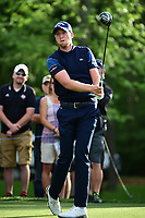 Daniel Berger (USA) wathes his tee shot on 13 during round 1 of the Shell Houston Open, Golf Club of Houston, Houston, Texas, USA. 3/30/2017.<br /> Picture: Golffile | Ken Murray<br /> <br /> <br /> All photo usage must carry mandatory copyright credit (&copy; Golffile | Ken Murray)