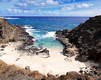 "Halona Beach Cove (""From Here to Eternity"" beach), east O'ahu."