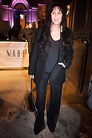 PAP0213POS431.CHER AT THE GARETH PUGH FASHION SHOW ©/NortePhoto