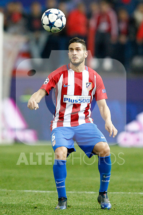 Atletico de Madrid's Koke Resurrecccion during Champions League 2016/2017 Round of 16 2nd leg match. March 15,2017. (ALTERPHOTOS/Acero)