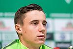 13.04.2018, Weserstadion, Bremen, GER, 1.FBL, Pressekonferenz Werder Bremen, <br /> <br /> im Bild<br /> Marco Friedl (Werder Bremen #32), <br /> <br /> Foto &copy; nordphoto / Ewert