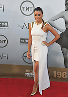 Eva Longoria at the 2014 American Film Institute's Life Achievement Awards honoring Jane Fonda, at the Dolby Theatre, Hollywood.<br /> June 5, 2014  Los Angeles, CA<br /> Picture: Paul Smith / Featureflash