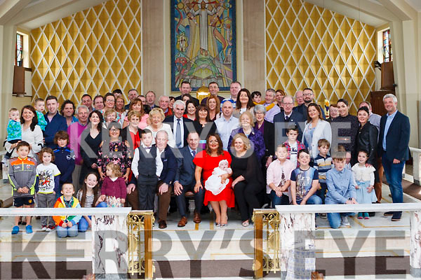 The Christening of baby Lauren Hennessy took place last Sunday in the Church of the Assumption Abbeyfeale, the ceremony was attended by family &amp; friends &amp; was officiated by Fr. Tony MullinsP.P.<br /> Seated : Lauren&rsquo;s parents Fergal &amp; Gr&aacute;inne with godparents Tim Hennessy &amp; Elaine Hennessy O&rsquo; Flaherty.
