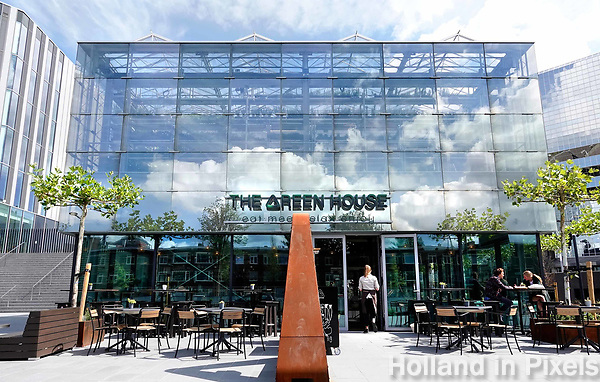 Nederland Utrecht 2018.  The Green House. Reastaurant en Urban Farm in één.  Foto Berlinda van Dam / Hollandse Hoogte