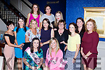 Varinna Murphy Killarney and Trish Cregan Tralee celebrated their hen party's with their fellow nurses of the Bons Secour Hospital Tralee in Lord Kenmares restaurant on Saturday night