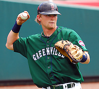 6 May 2007: Jon Still from a game between the Greenville Drive, Class A affiliate of the Boston Red Sox, and the Augusta GreenJackets at West End Field in Greenville, S.C. Photo by:  Tom Priddy/Four Seam Images