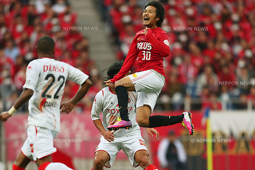Shinzo Koroki (Reds), .March 9, 2013 - Football / Soccer : .2013 J.LEAGUE Division 1, 2nd Sec .match between Urawa Reds 1-0 Nagoya Grampus .at Saitama Stadium 2002, Saitamai, Japan. .(Photo by Daiju Kitamura/AFLO SPORT) [1045]