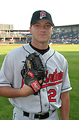 August 13, 2003:  Adam Flohr of the New Britain RockCats during a game at Jerry Uht Park in Erie, Pennsylvania.  Photo by:  Mike Janes/Four Seam Images
